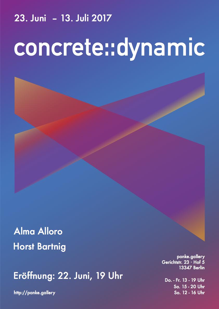 Concrete::dynamic EXHIBITION @panke.gallery