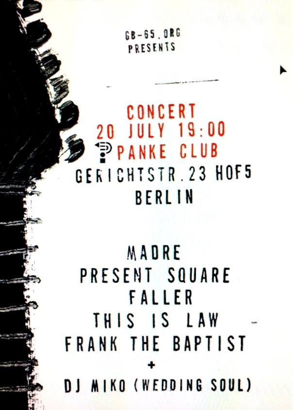 5 Bands from Wedding // Concert