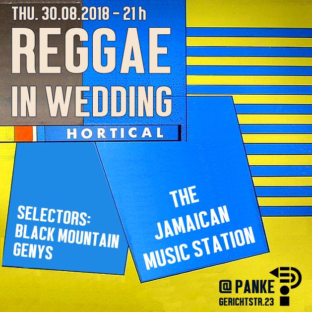 Reggae in Wedding