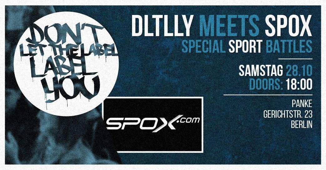 Dltlly meets Spox // Panke Berlin //