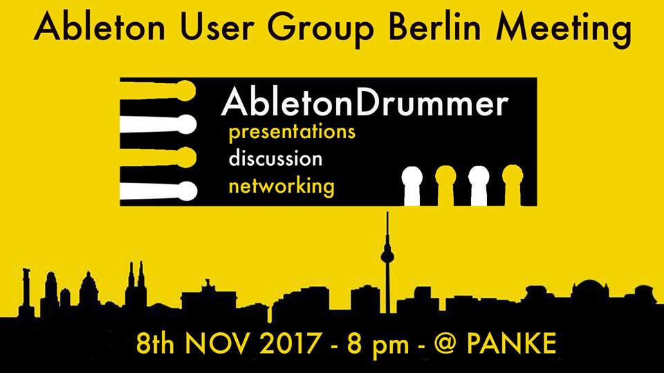 AUGB presents Ableton Drummer