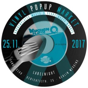 Vinyl Market Kuchenplatte + 3 Years Dusty Donuts Labelnight