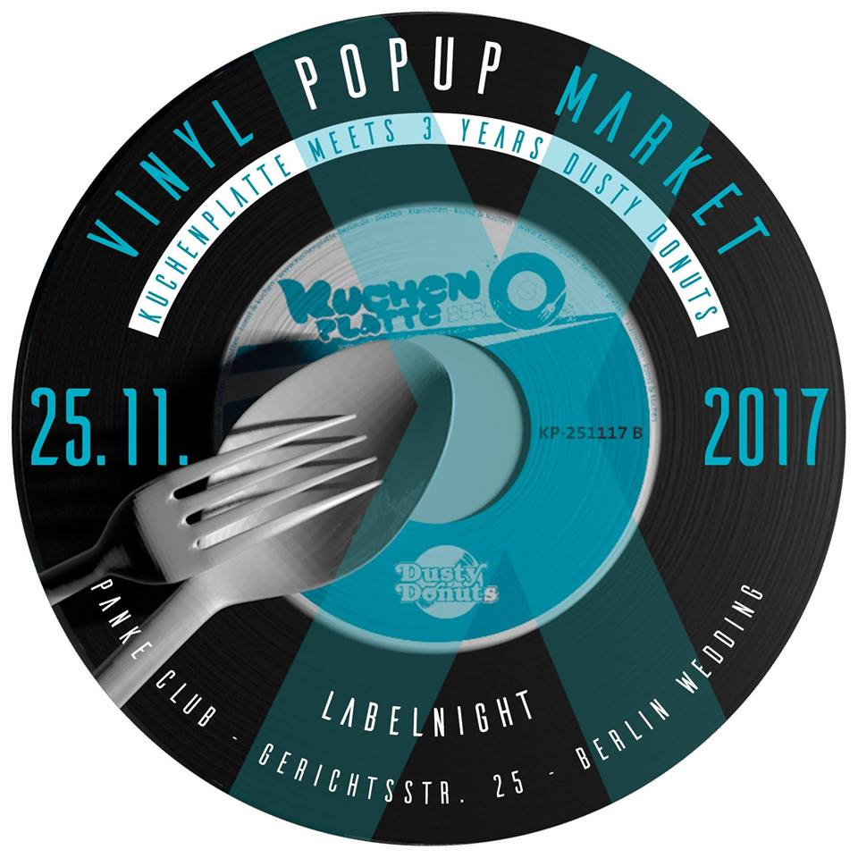 Vinyl Market Kuchenplatte + 3 Years Dusty Donuts Labelnight