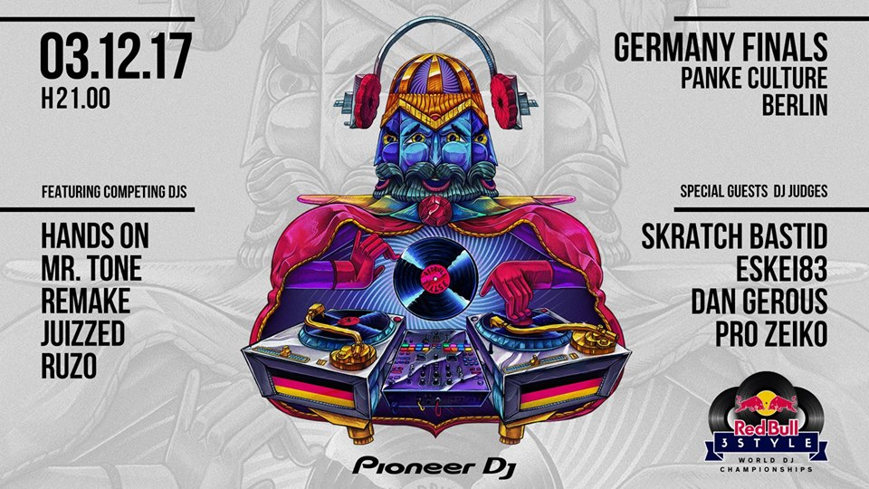 Red Bull 3Style Germany Finals at Pankeculture