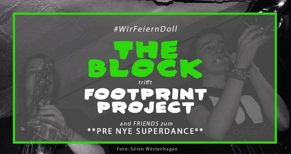 The BLOCK meets Footprint Project & Friends #wirfeierndoll
