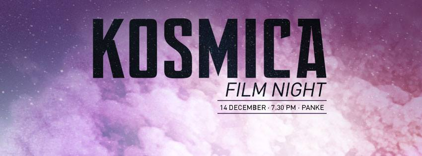 Scope Sessions #70 – Kosmica Film Night