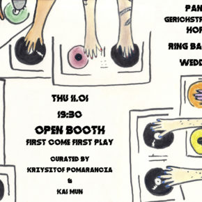 OPEN Booth: First Come First Play