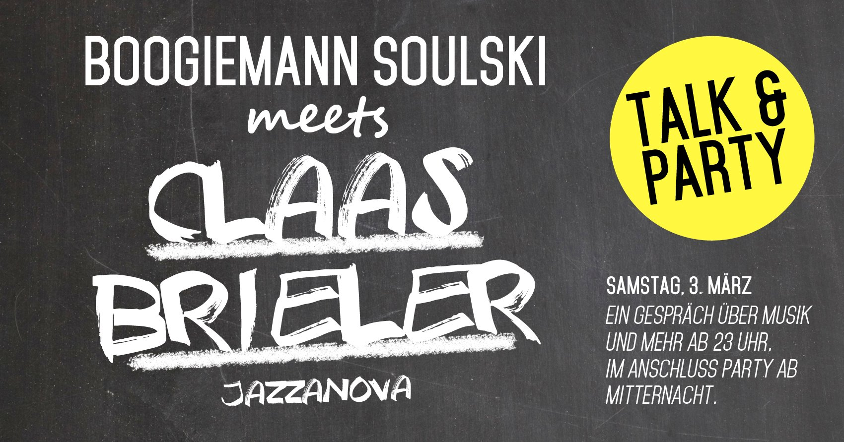 Boogiemann Soulski meets Claas Brieler