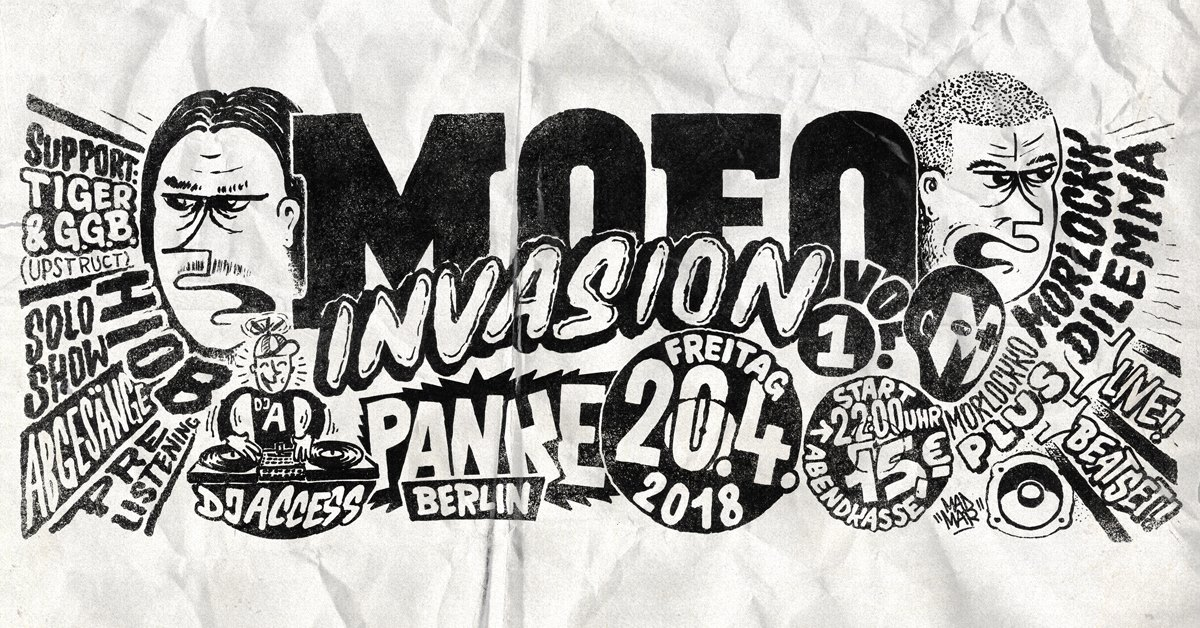 MOFO Invasion Vol.1 – Berlin