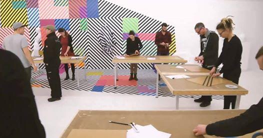 Tape art workshop