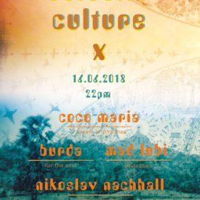 Eclectic Culture X w/ Coco Maria & Burda