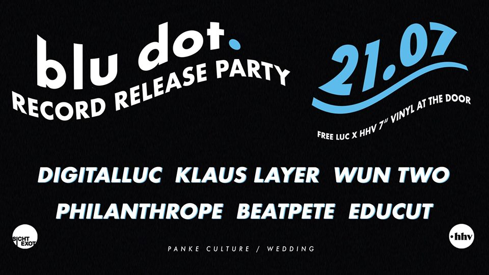 Digitalluc's »blu dot. Record Release Party