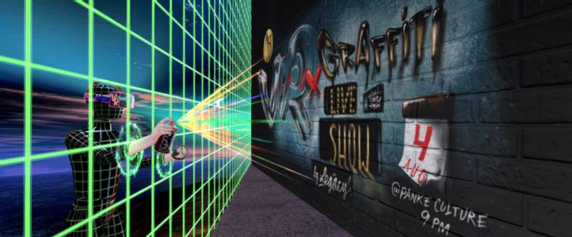 Virtual Reality X Graffiti Live-Show