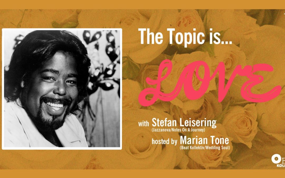 The topic is… Love