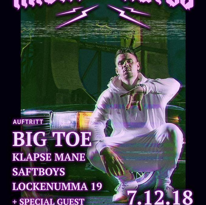 Nacht des Hutes Vol.III Big Toe – OGKF Release Party