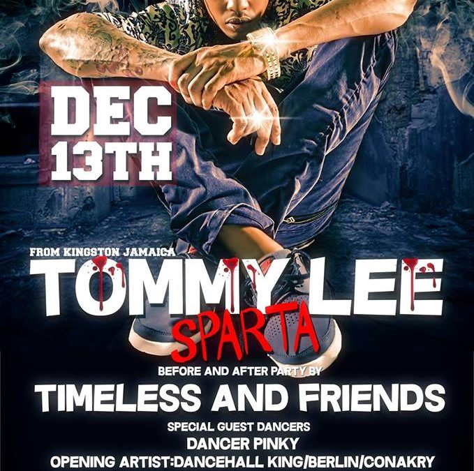 Tommy Lee Sparter Kingston Ja at Timeless Cultural Thursdays