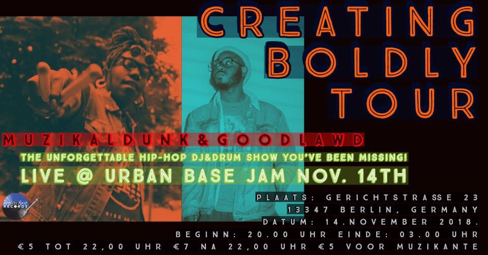 Urban Base Jam R&B Session Feat. Muzikaldunk & GoodLawd