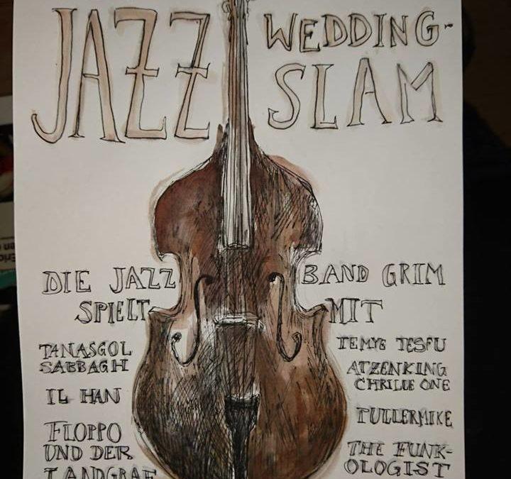R. Isenberg MC's JazzWeddingSlam zu Ehren seines 23. Geburtstags