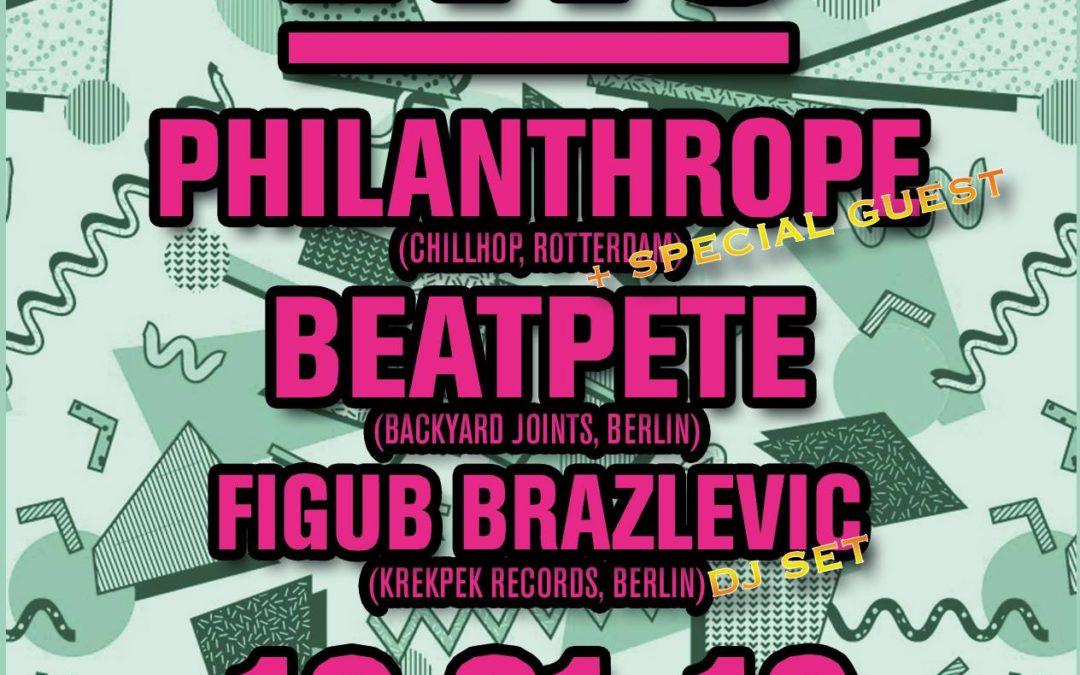 EWS #49 Philanthrope, Beatpete, Figub Brazlevic & Special Guest