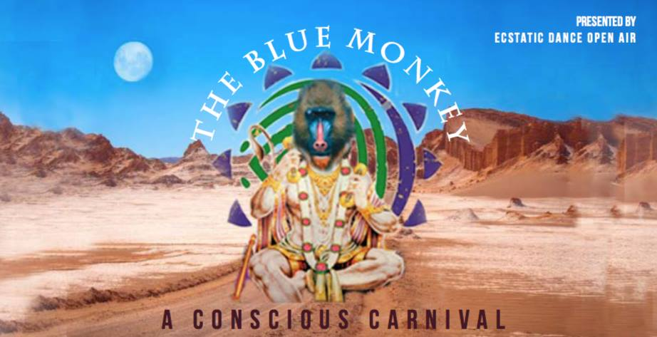 The Blue Monkey ✩ Ukik ✩ Cacao Kundalini Meditation ✩ Music Jam