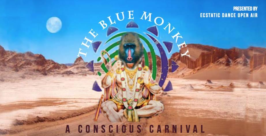 The Blue Monkey ✩ Ukik ✩ Cacao Kundalini Meditation ✩ Music Jam