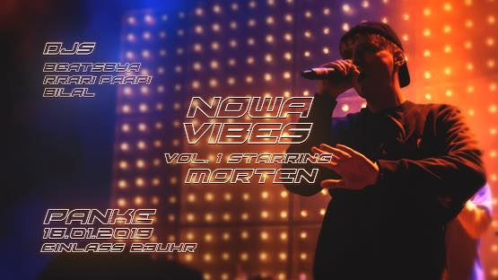 Nowa Vibes Vol. 1 starring morten