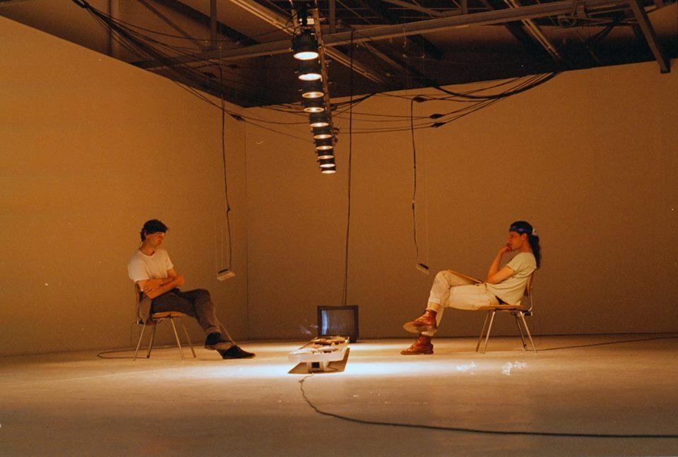 Panke.Gallery: Re:Konstruktion – barriere 1996 by Ulrike Gabriel