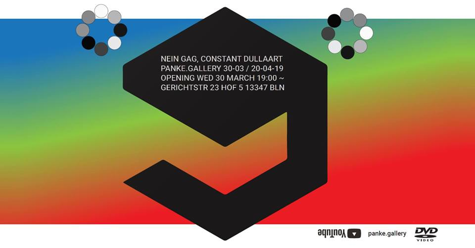 NEIN GAG – solo show by Constant Dullaart