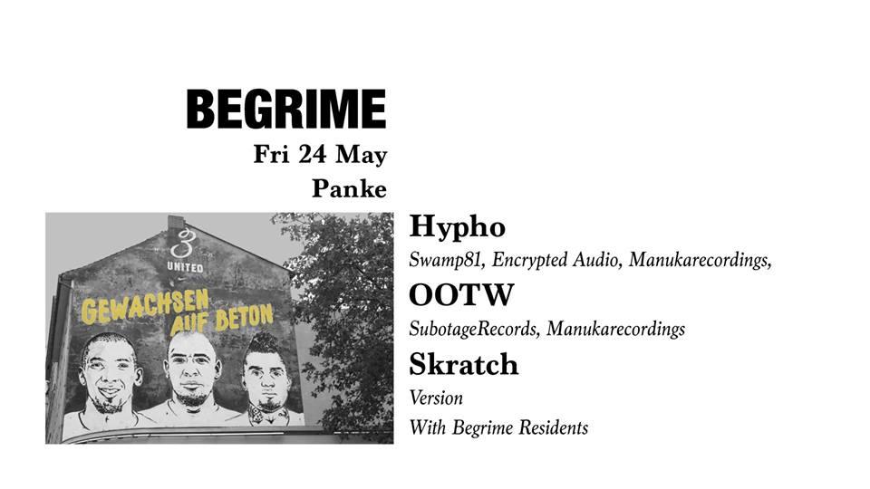 Begrime: Hypho / OOTW / Skratch