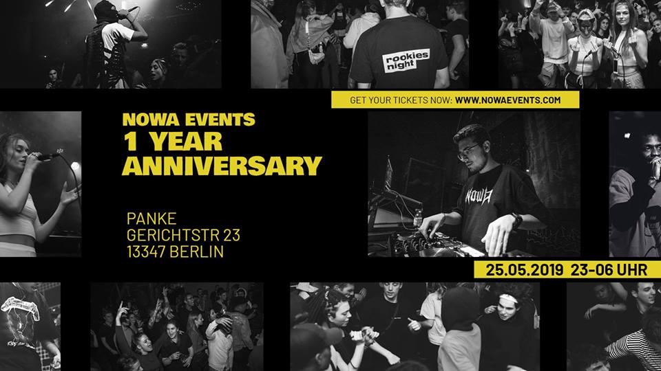 Nowa Events 1 Year Anniversary