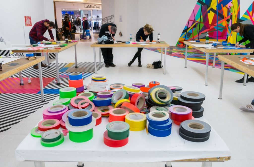 Tape Art Workshop in Berlin: Create your own Tape Artwork!