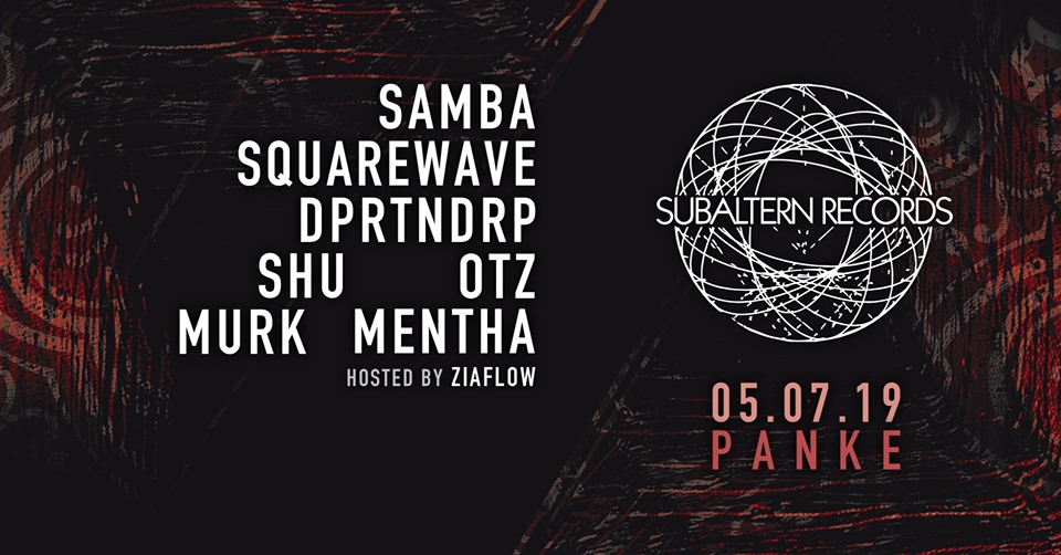 Subaltern Records: Samba, Squarewave, D-Operation Drop, Shu