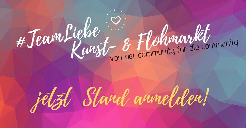 TeamLiebe Kunst- und Flohmarkt