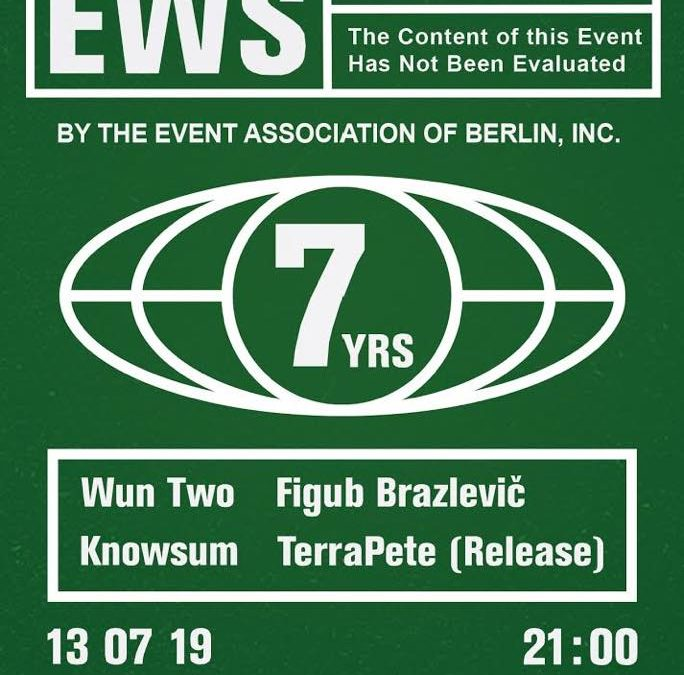 EWS #55 7 YRS Special w/ Wun Two, Knowsum & Special guest
