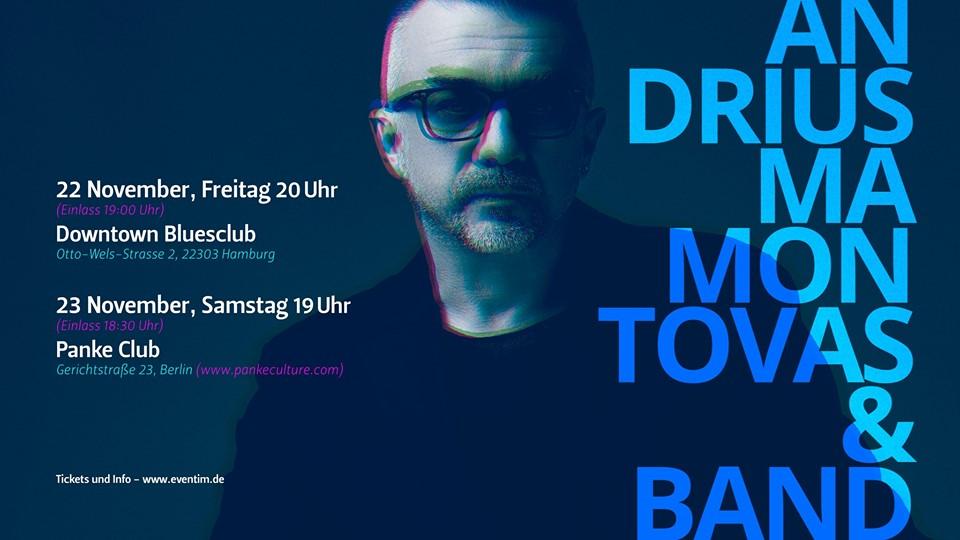 Andrius Mamontovas su grupe Berlyne