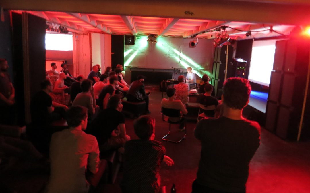 Show and tell at Ableton user group Berlin